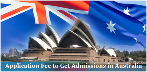 Application Fee to Get Admissions in Australia