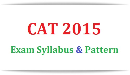2015 cat pdf syllabus