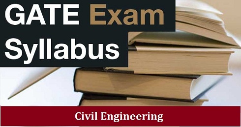 GATE 2016 Civil Exam Syllabus