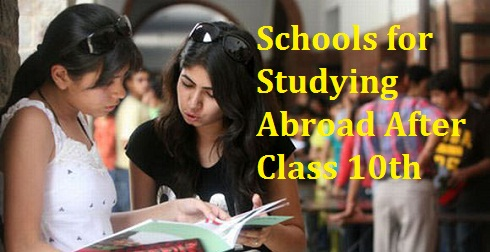 Schools for Studying Abroad After Class 10th