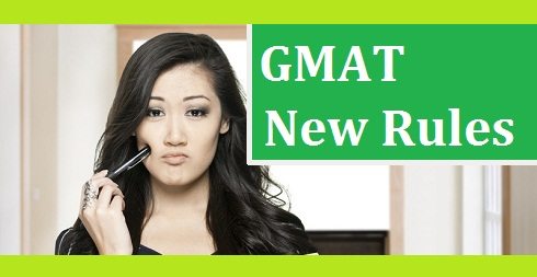 GMAT New Rules