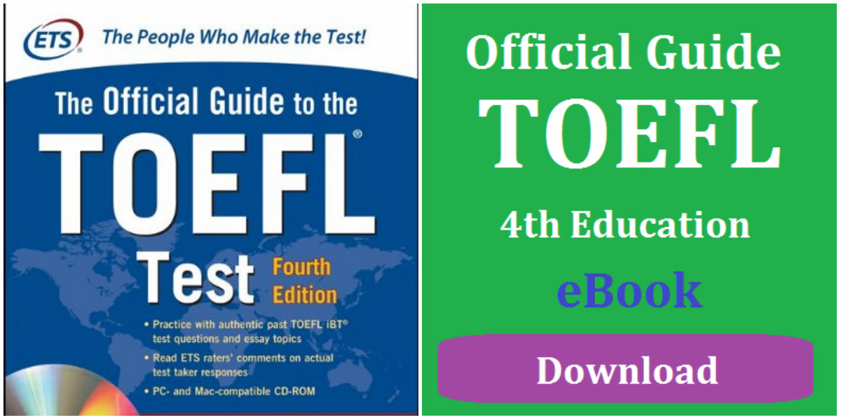 Official Guide to TOEFL Test 4th Edition eBook