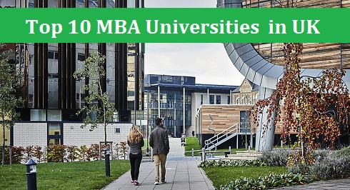MBA Universities in UK