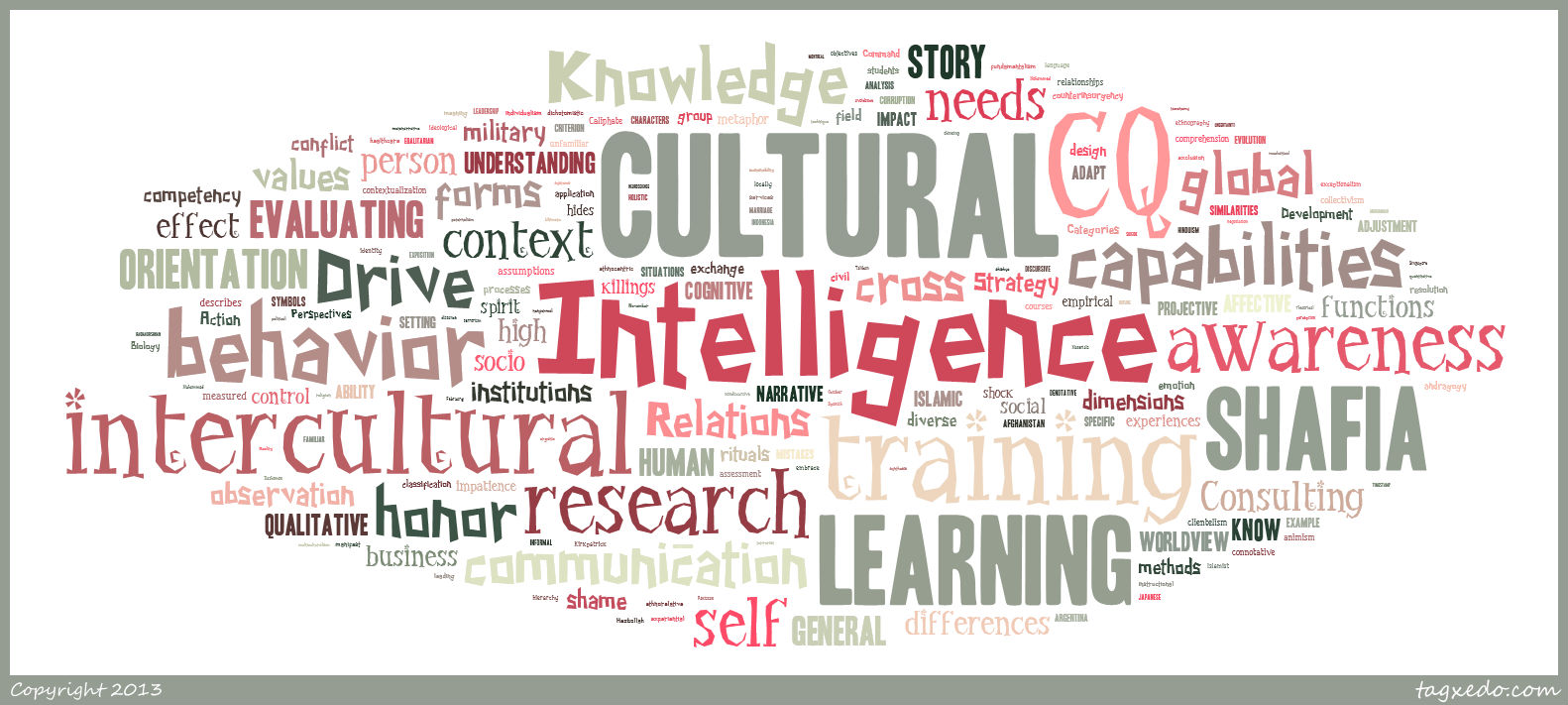 About Cultural Intelligence – Cultural Intelligence Center