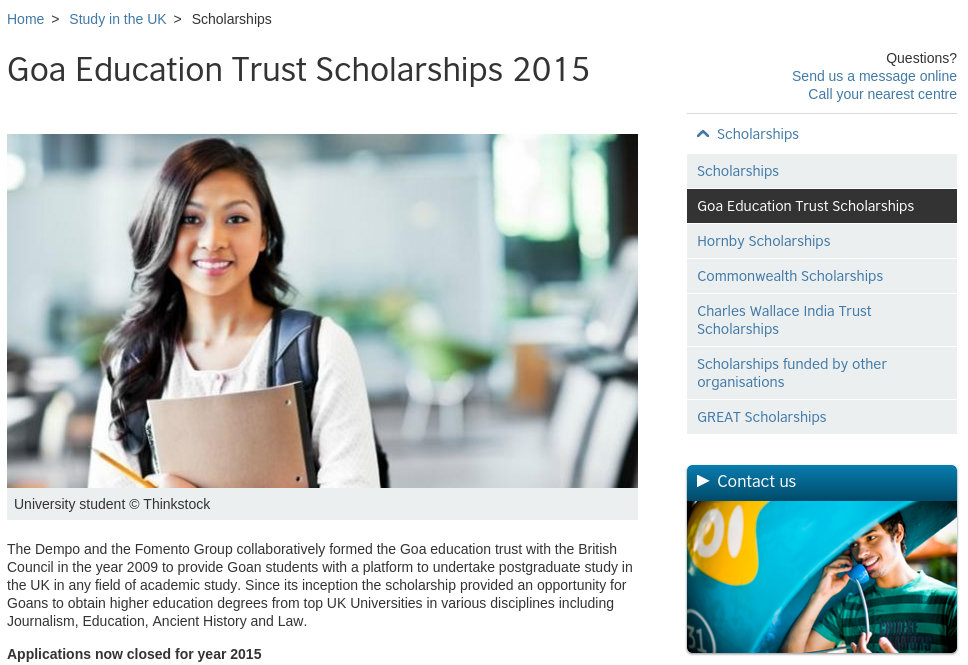 Top Scholarships to Study in UK