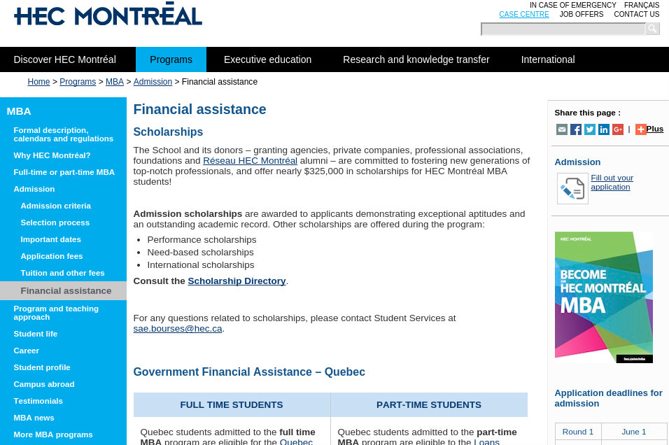 Top Scholarships to Study in Canada