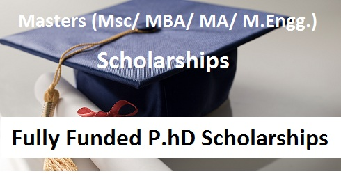 Scholarship & PhD Updates