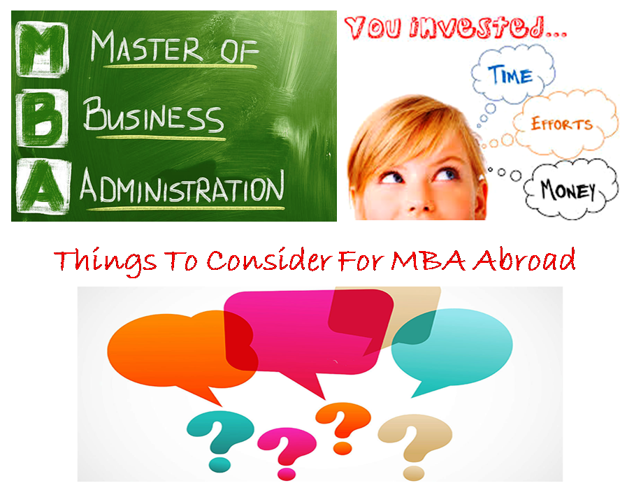 Applying for MBA in Abroad