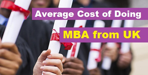 Average Cost Of Doing MBA From UK: Calculate Your Total Expenses