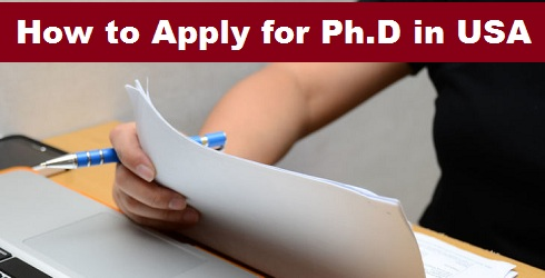 How to Apply for PHD in USA
