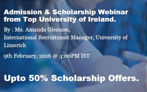 Masters Scholarships for Study Abroad- MeetUniversity Webinar