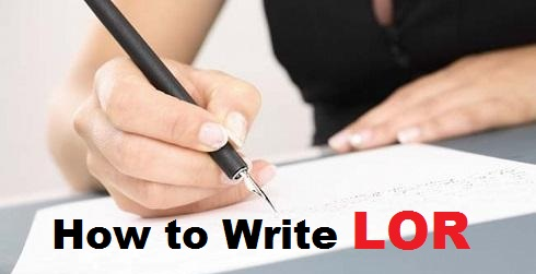 How to Write LOR for MBA to Study Abroad