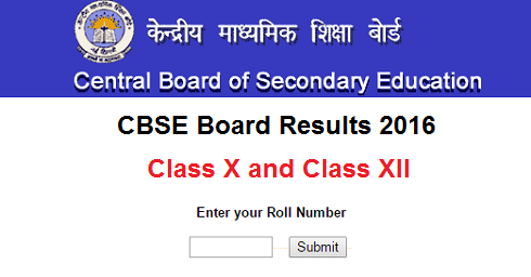 CBSE Board Results 2016