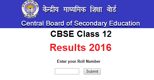CBSE Board 12th Result 2016 Date