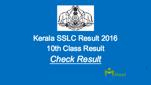 Kerala SSLC Result 2016 to be Declared