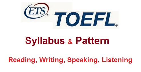 TOEFL Syllabus and Pattern