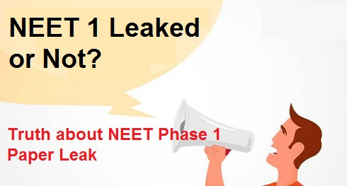 NEET Phase 1 Paper Leaked or Not? What is Truth about AIPMT 2016 Paper Leak News