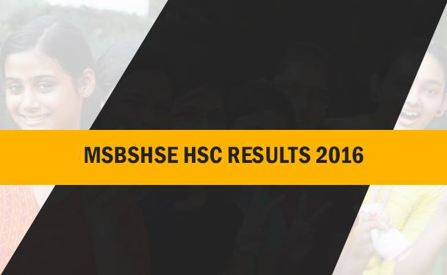 Maharashtra Board HSC Result 2016 | Maharashtra 12th Result 2016 at mahresult.nic.in