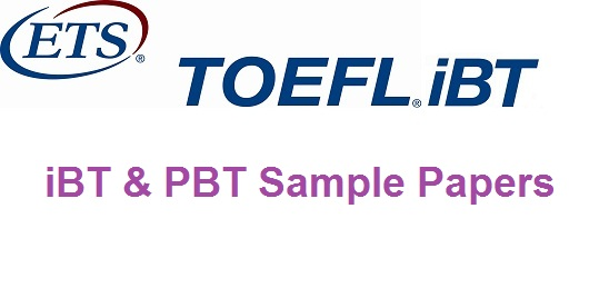 TOEFL Sample Papers With Answers