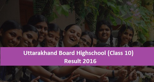 Uttarakhand Board 10th Result 2016