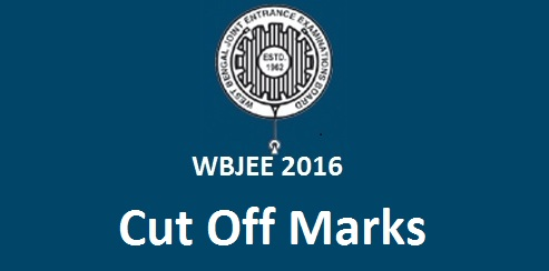 WBJEE 2016 Cut Off Marks
