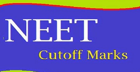 NEET 1 Cut Off Marks 2016