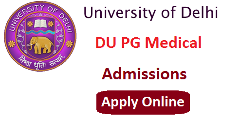 Delhi University PG Medical Admission 2016