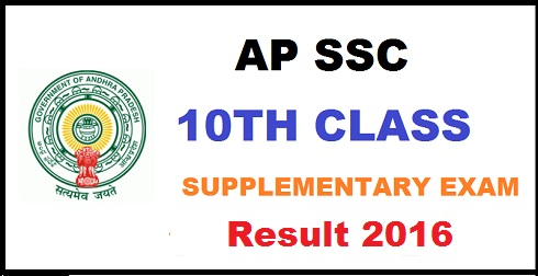 AP Class 10 Supply Result 2016