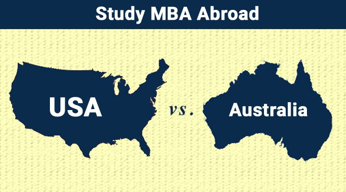 Studying MBA in USA vs Australia