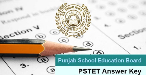 PSTET Answer Key 2016