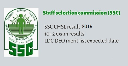SSC CHSL Tier 2 Result 2016