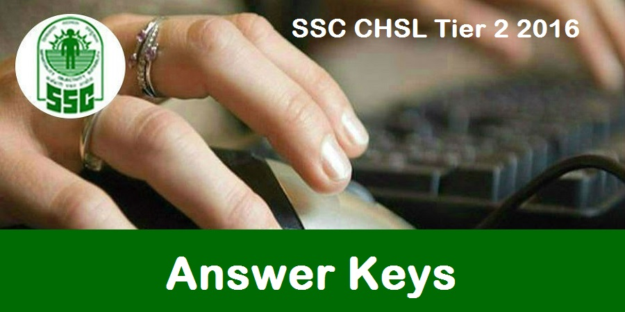 SSC CHSL Tier 2 Answer Key 2016- 18 September SSC Solutions