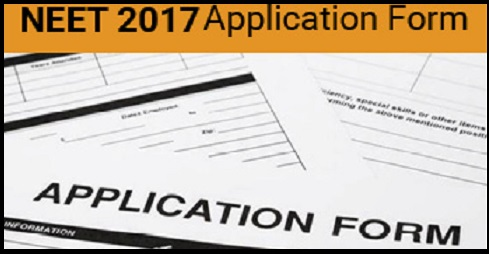 NEET 2017 Application Form- Exam Date and Notification Details