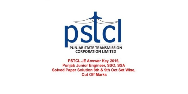 PSTCL JE Answer Key 2016