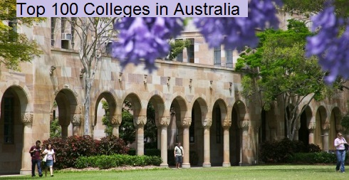 Top 100 Colleges in Australia