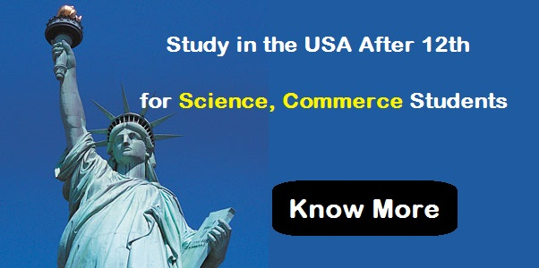 Study in USA After 12th