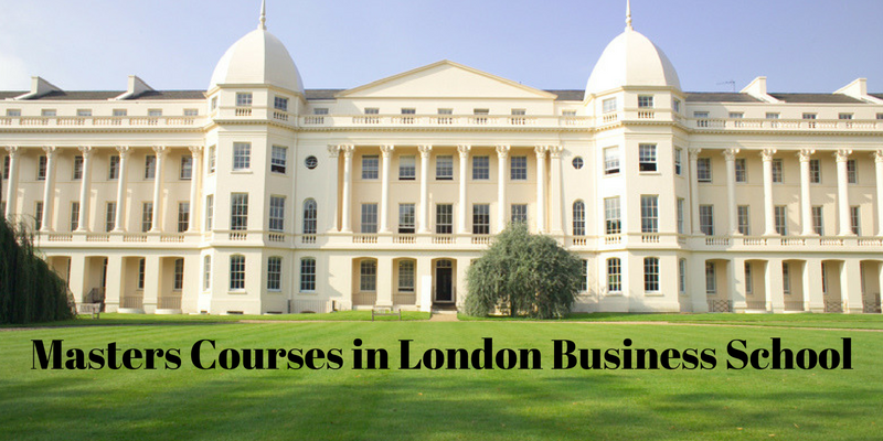 Masters Courses in London Business School