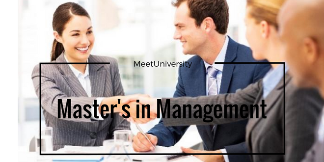 Masters in Management in UK
