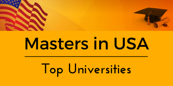 Top Universities for Masters in USA
