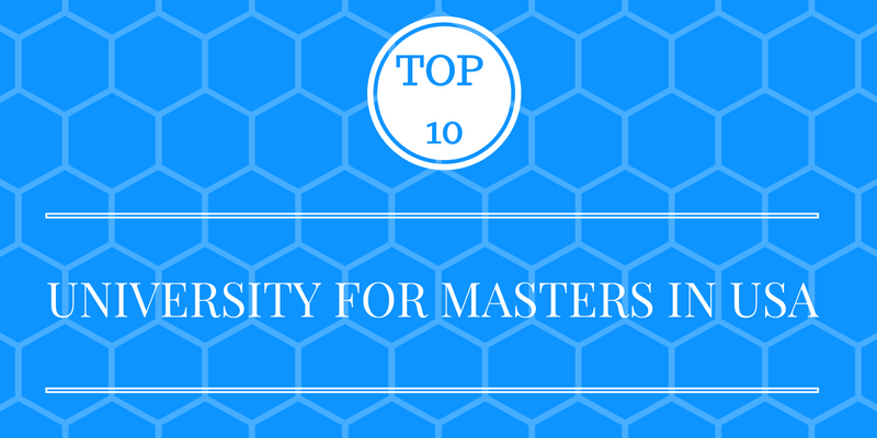 Top 10 Universities in USA for MS