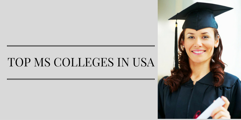 Top MS Colleges in USA