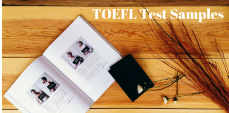 TOEFL Sample Test Papers