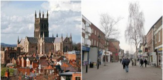 Worcester England City