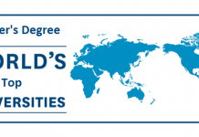 Top Ranking Universities for Masters Degree