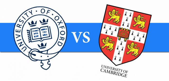 Cambridge is better than oxford