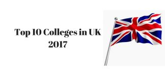 Top 10 Colleges in UK 20171