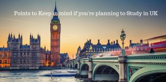 8 Points to Keep in Mind if you are Planning to Study in UK