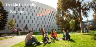 Deakin University Australia rankings