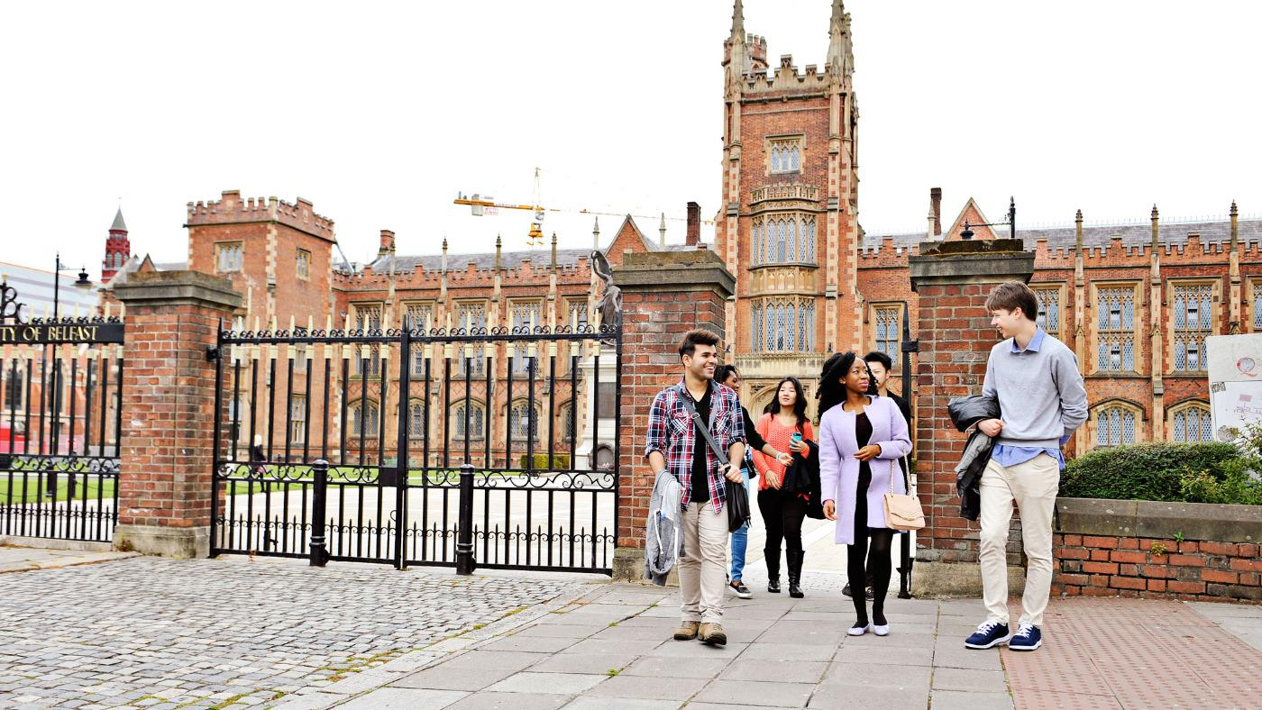 Queen's University Belfast Campus, Popular Courses, Alumni ...