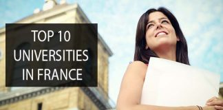 top universities in france
